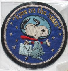 Snoopy Space Patch