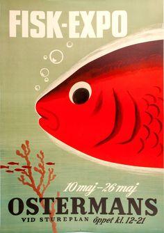 ANON. Fisk-Expo, 10 maj - 26 maj. Ostermans. – Sotherans