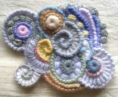 Wonderful freeform crochet work 北疆昆仑的日志 - 网易博客