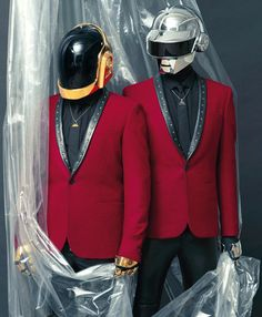 Pierpaolo Ferrari captures Daft Punk for L'UOME VOGUE'S cover story