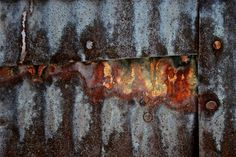 Abstract Fine Art Photography Industrial Rust - The Holdout 8x12. $25.00, via Etsy.
