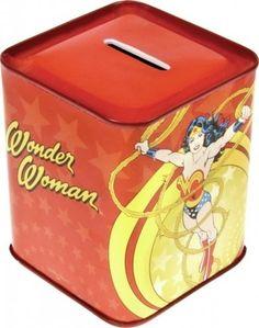 Wonder Woman - Tin Piggy Bank