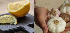 Zitronen-Knoblauch-Kur: Anleitung und Infos zum Heilverfahren Bio Tee, Garlic, Vegetables, Healthy, Food, Public Domain, Diets, Sandwich Spread, Turmeric