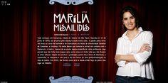 Marília Misailidis by Caos , via Behance