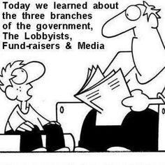 Take money out of politics! It is ruining our democracy!