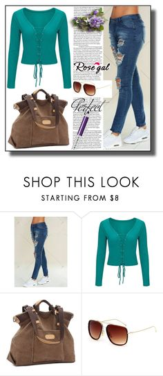 """""""Pencil Jeans Rosegal III/55"""" by dzemila-c ❤ liked on Polyvore featuring Marc Jacobs and Tag"""