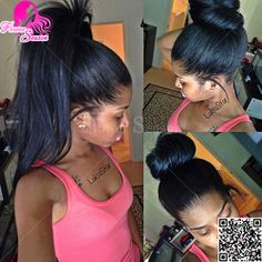 Online Shop High Ponytail Malaysian Light Yaki Full Lace Wig 150 Density Glueless Human Hair Wig For African American With Baby Hair|Aliexpress Mobile