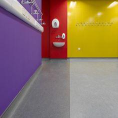 DLW Linoleum's marmorette prescribed for hospital refurbishment!  http://www.gerflor.co.uk/solutions-for-professionals/all-sectors/