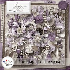 Magic Of The Season - Jessica Art Design http://scrapfromfrance.fr/shop/index.php?main_page=index&manufacturers_id=99