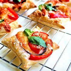 Easy kid-friendly baked savory snack using puff pastry. It can be a lovely kid's activity.