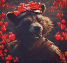 Peter Quill, Disney Stitch, Rocket Raccoon, Raccoons, Guardians Of The Galaxy, Marvel Characters, Marvel Comics, Panda, Avengers