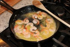 Shrimp Scampi in Vodka Lemon Cream - GlutenFreeClub