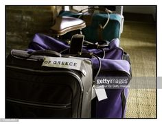 MC luggage: Princess Marie-Chantal and Family, Vanity Fair - Spain, November 1, 2009 : News Photos