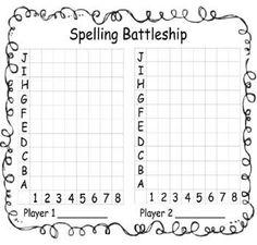 Practice Spelling Words with Spelling Battleship - free! 4th Grade Spelling, Spelling Practice, Spelling Activities, Spelling And Grammar, Spelling Words, Spelling Games, Spelling Ideas, Spelling Lists, Listening Activities