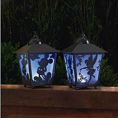 Disney 13in Tinkerbell Silhouette LED Lantern with Timer 1