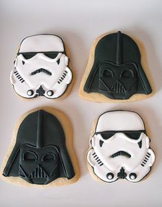 Oh sugar's Star Wars cookies