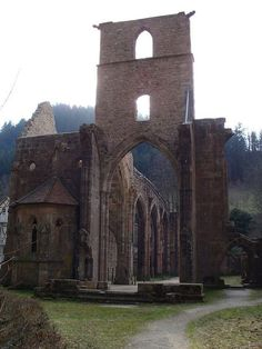 This ancient ruined monastery has been destroyed by fire so many times that it seems like God hates it