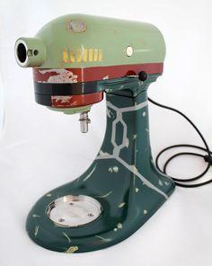Boba Fett KitchenAid mixer.