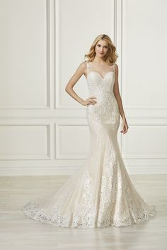 94 best Adrianna Papell Platinum Bridal Gowns images on Pinterest in ...