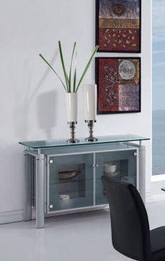 Global Furniture Buffet Gl D88 Slv Server New