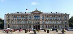 O Ateneum é um museu de arte em Helsinque, Finlândia e um dos museus da Galeria Nacional Finlandesa. Tem as maiores coleções de arte clássica na Finlândia.  Fotografia: Alvesgaspar.