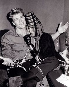 Amazing Couple: Grace Jones and Dolph Lundgren <3