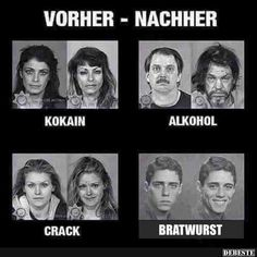 Vorcher - Nachher.. | Lustige Bilder, Sprüche, Witze, echt lustig