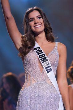 Meet the new Miss Universe: Paulina Vega, Miss Colombia Mais Miss Universe Dresses, Miss Universe 2014, Beautiful Latina, Most Beautiful Women, Amazing Women, Miss Pageant, Pageant Girls, Beauty Full Girl, Beauty Women