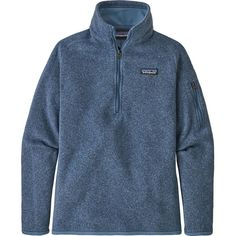 Patagonia Girl's Better Sweater Quarter-Zip Fleece Light Violet Blue S Patagonia Quarter Zip, Patagonia Kids, Bob, Patagonia Better Sweater, Cool Sweaters, Sport, Pullover Sweaters, Zip Sweater, Shirt Style