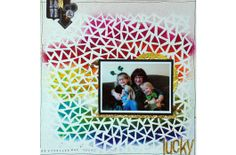 Let bright, vibrant colors and unique designs of Dyan Reaveley's Dylusions Mists and Stencils bring out your inner #artist. Find them on #scrapbookSTEALS #scrapbook #crafts #art #diy