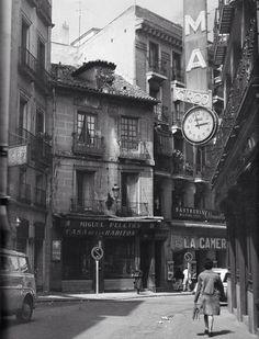 Calles Postas. Madri