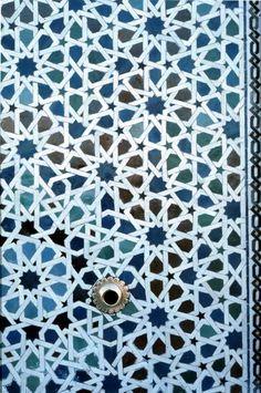 Pattern in Islamic Art - Rabat Mosque