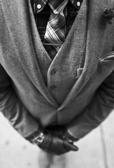 I think that this Fall/Winter is going to be all about layering - and definitely a nice pair of leather gloves!