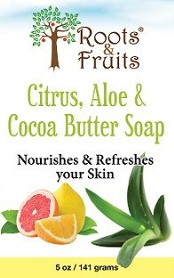 Citrus, Aloe & Cocoa Butter Soap