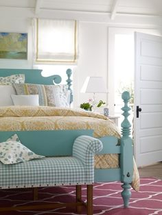 Colors, bed frame, decor