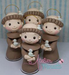 Pasta Flexible, Play Doh, Cold Porcelain, Flamingo, Maya, Polymer Clay, Christmas, Handmade, Crafts