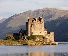 Castelo de Eilean Donan, Escócia.
