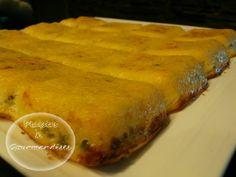 Flan de polenta aux légumes dans Moule Tablette p6010037