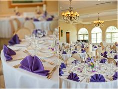 Purple Summer Virginia Wedding by Lelia Marie Photography - KnotsVilla