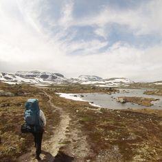 Hiking. Finse