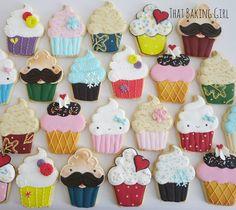 Super Cute Cupcake Cookies