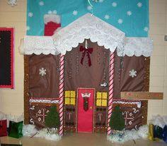 Christmas on Gingerbread Lane Preschool Ideas.