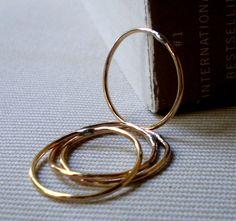 skinny rings