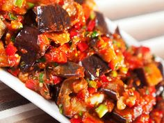Lebanese Moussaka This rich stew combines eggplant and chickpeas to create a mouthwatering meal steeped in a flavorful tomato sauce. Preparation Time: 15 minutes approximately Cooking Time: 30 minute