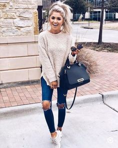19 Winter Outfits Ideas for Women Casual Outfits and Sexy - Winter Outfits Casual Fall Outfits, Fall Winter Outfits, Spring Outfits, Trendy Outfits, Black Outfits, Cold Spring Outfit, Casual Goth, Girly Outfits, Winter Style