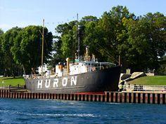 Huron Lightship Museum in Port Huron, Michigan.
