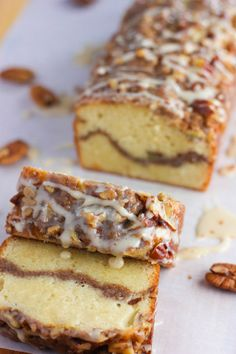 Can't beat the flavors of this traditional … Ultimate Sour Cream Coffee Cake! Can't beat the flavors of this traditional coffee cake – no reduced calories here….just a lot of yum! Baking Recipes, Cake Recipes, Dessert Recipes, Loaf Recipes, Spinach Recipes, Fudge Recipes, Cream Recipes, Turkey Recipes, Crockpot Recipes