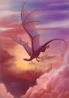 Close to heaven by Alvia Alcedo. Dragon!!