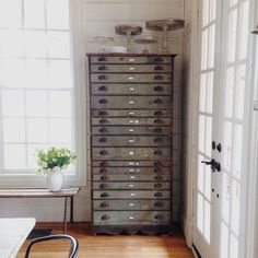 LOVE lots of drawers!! What a great piece...from the Magnolia blog