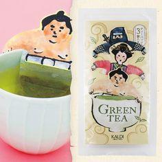 マグカップや湯呑みのフチにかけてお湯をそそぐだけで、おいしい緑茶をお楽しみいただける緑茶のティーバッグです。